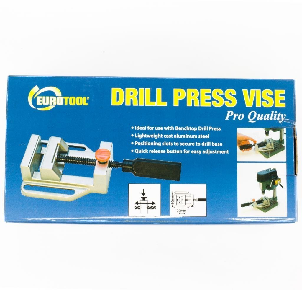 Drill Press Vise | VIS-265.00 by EuroTool