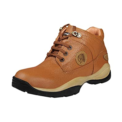 Red Chief Men RC2055 Tan Leather Lace,ups