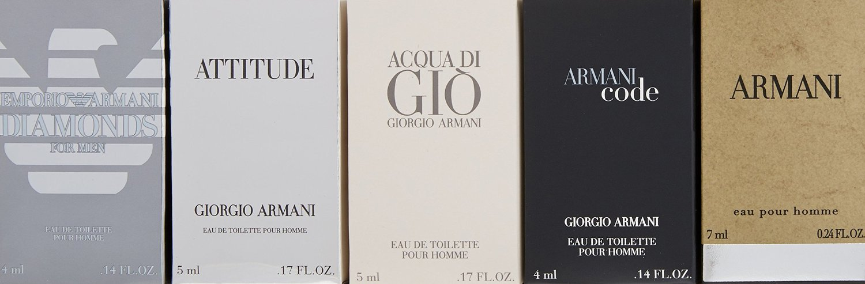 Giorgio Armani Variety for Men 5 Pc. Gift Set M-GS-2782