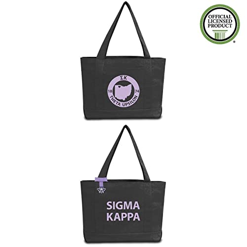 2db574b921 Amazon.com: Sigma Kappa Sorority State Book Tote Bag: Handmade