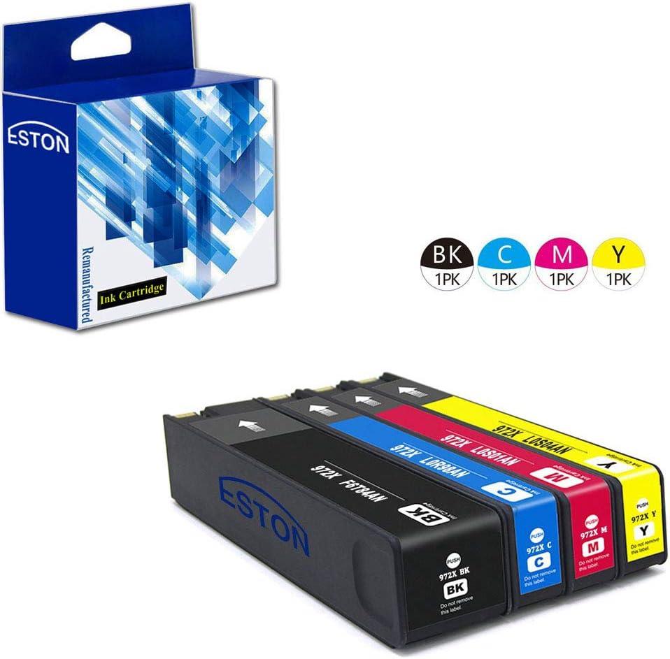 1PK HP 972X Cyan Remanufactured Ink Cartridge