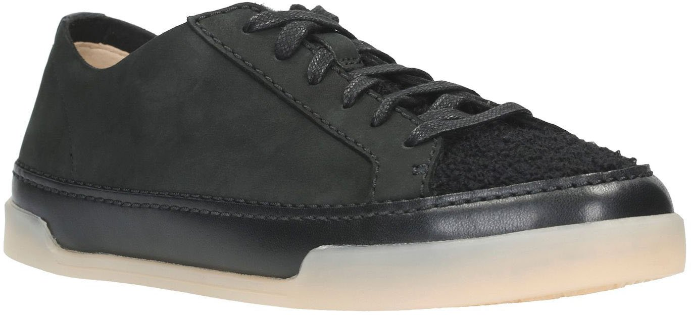 CLARKS Women's Hidi Holly Sneaker B071ZRKZZ9 7 B(M) US|Black Combi Leather