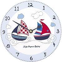 JoJo Maman Bebe - Reloj de pared, diseño