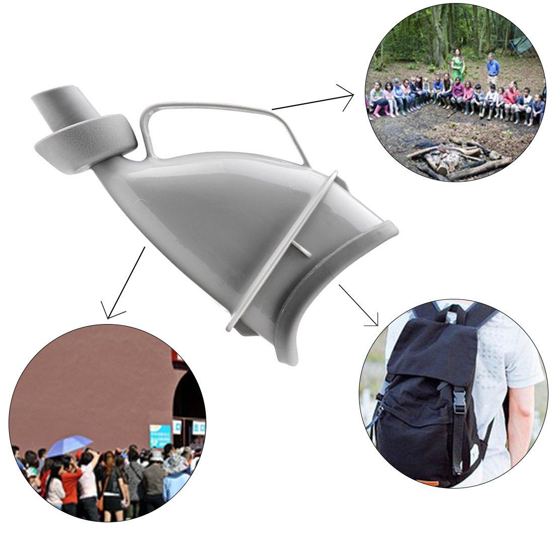 Emergencia al Aire Libre Se/ñora Orinal p/úrpura Gel de s/ílice m/édico Plegable Embarazadas Mujeres Embudo Orinal Reutilizable Viaje Camping Dispositivo de orina