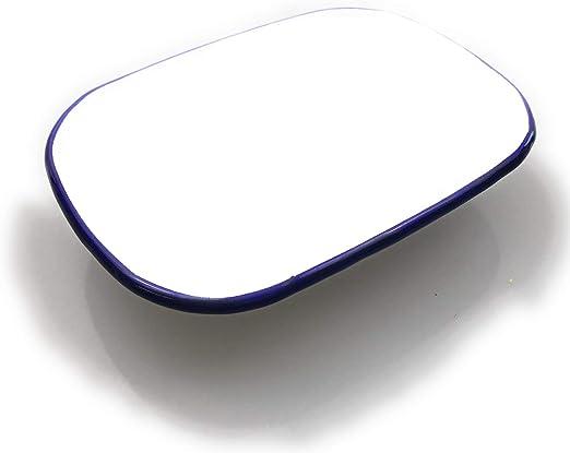 Schüssel mit Deckel emailliert Komfort 1,5 L Schale Rührschüssel Servierschale