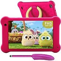 Tablet Para Niños PC de 7 pulgadas WiFi Android 10 2020 FHD 1920 x 1200 IPS, 2GB, control parental, Kidoz instalado, ROM…