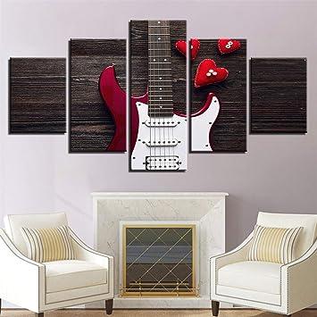 Whian 5Pcs / Set De Peinture Moderne Murale Tableaux Toile ...
