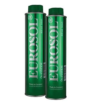 2 x eurosol Sistema de aceite/limpiador/adicional/additiv 400 ml: Amazon.es: Coche y moto