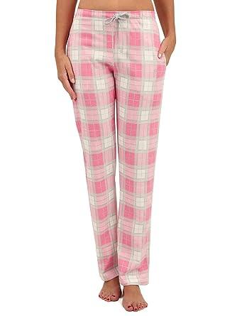123ca765b8b8cd Di Ficchiano Damen Lange Pyjamahose Jessy: Amazon.de: Bekleidung
