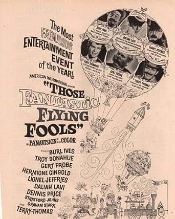 Fantastic Flying Fools ad Clipping Magazine photo 1pg 8x10 orig M8269