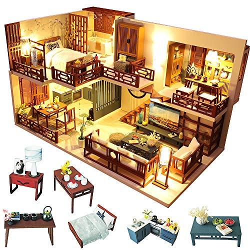 Fsolis Diy Dollhouse Miniature