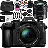 Panasonic Lumix DMC-G85 Mirrorless Micro Four Thirds Digital Camera 13PC Bundle - Includes Panasonic Lumix G Vario 14-140mm f/3.5-5.6 ASPH. POWER O.I.S. Lens + 64GB SD Memory Card + MORE
