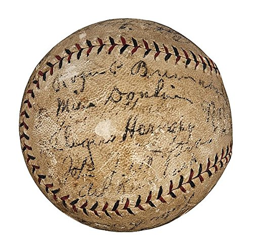 1926 St. Louis Cardinals World Series Champs Team Signed Baseball W/ Babe Ruth