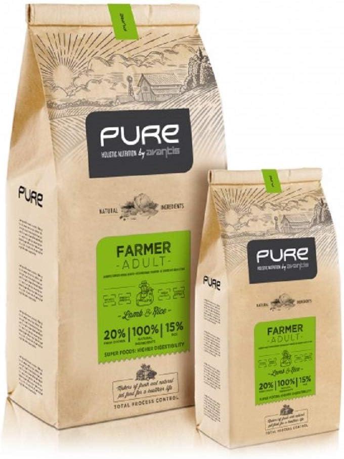 Avantis Pet Pienso para Perro Pure Farmer Lamb Adult - Peso - 12kg