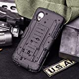 LG Nexus 5 Case, Cocomii Robot Armor NEW [Heavy Duty] Premium Belt Clip Holster Kickstand Shockproof Hard Bumper Shell [Military Defender] Full Body Dual Layer Rugged Cover Google (Black)