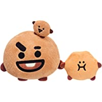 AURORA BT21 Official Merchandise, SHOOKY Soft Toy, Small, 61330, Brown