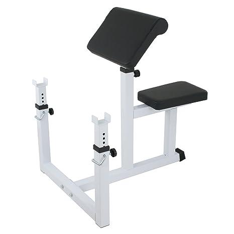 BBBuy Fitness – Banco de Peso Ajustable Banco Sentado – Banco de bíceps Aislado de la