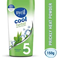 Nycil Cool Herbal with Neem and Pudina Prickly Heat Powder, 150g
