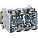 Legrand LEG04880 Répartiteur modulaire monobloc 2P 100 A 7 connexions 4 modules