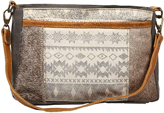 Amazon Com Myra Bag Classical Upcycled Canvas Cowhide Leather Shoulder Bag S 1222 Shoes Every #bag is truly handcrafted with spirit of vintage, ethnic and bold look. myra bag classical upcycled canvas cowhide leather shoulder bag s 1222