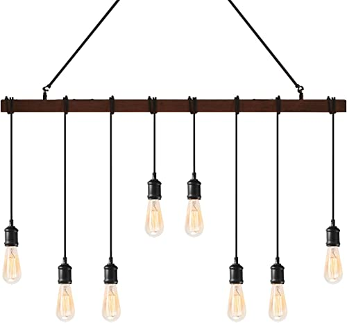Tangkula Industrial Multi Pendant Light