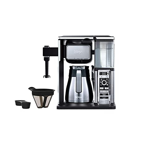 Ninja Coffee Bar 10-Cup Coffee Maker (CF091) Stainless Steel/Black - New