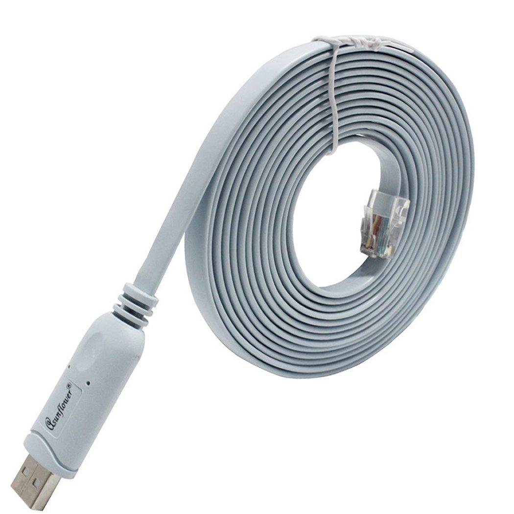 Amazon.com: Asunflower Ftdi USB to Serial / Rs232 Console Rollover ...