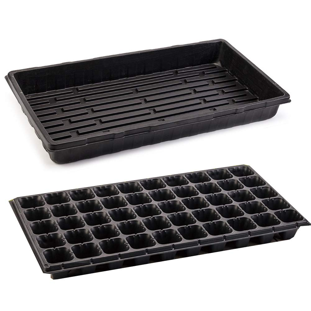 Kyuccfrs Garden Tools 20Pcs Seedling Tray Seed Starter Box Plant Flower Grow Germination Nutrition Pot by Kyuccfrs