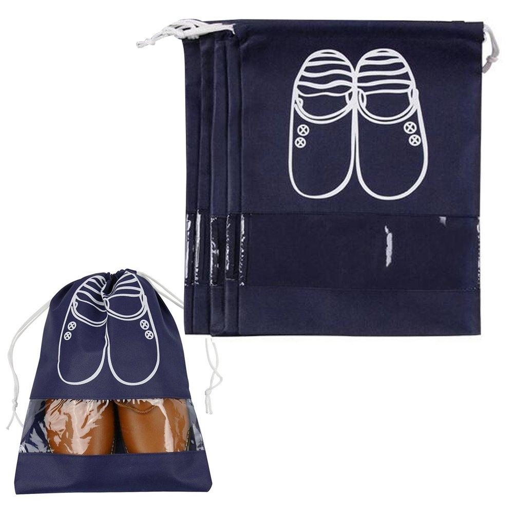 Juego de bolsas de viaje para zapatos (5 unidades) Westonetek A0069-2