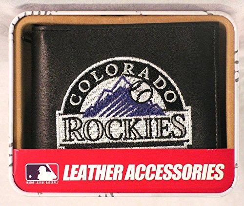 Rico Industries RIC-RBL6401 Colorado Rockies MLB Embroidered Billfold Wallet