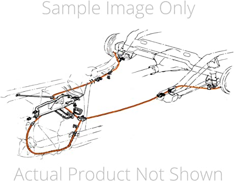 Inline Tube Complete Parking//Emergency Brake Cable Set Compatible with 1969-72 Chevrolet and GMC 1//2 Ton T-400 Transmission Short Bed and Coil Rear Trucks BST6902 B-7-2 2 Wheel Drive