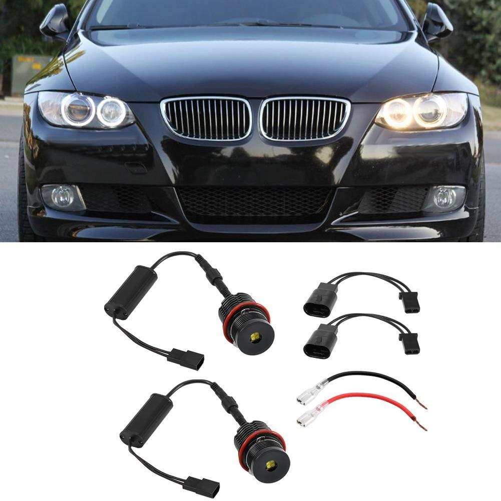 Duokon 40W LED 6500K Angel Eyes Bombilla para Linterna E39 E53 E60 E61 E63 E65