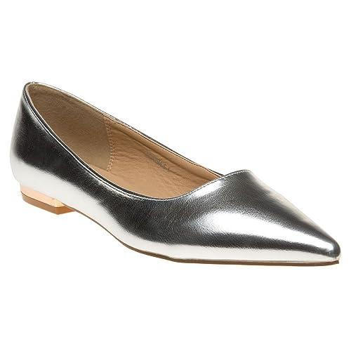 Solesister Glynn Mujer Zapatos Metálico wuABMNmYi