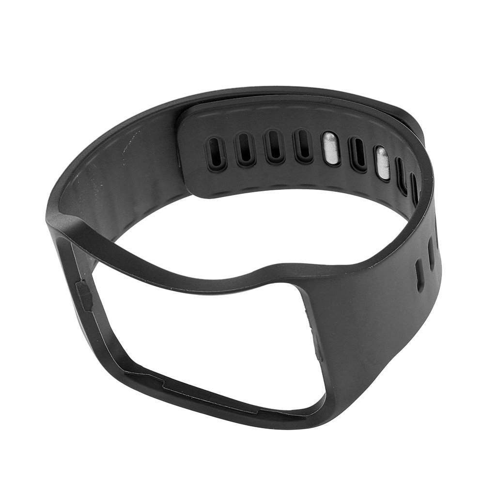 MagiDeal Replace Watch Wrist Band Strap Bracelet Bangle Band for Samsung Gear S SM-R750 - Black