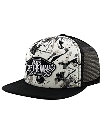 f1885f39c70 Vans Classic Patch Splatter Trucker Cap  Amazon.co.uk  Clothing