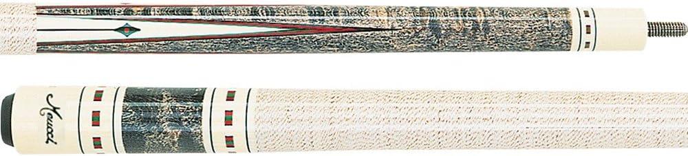 Nueva Meucci me9712 taco de billar palo w/negro Dot eje: Amazon.es ...