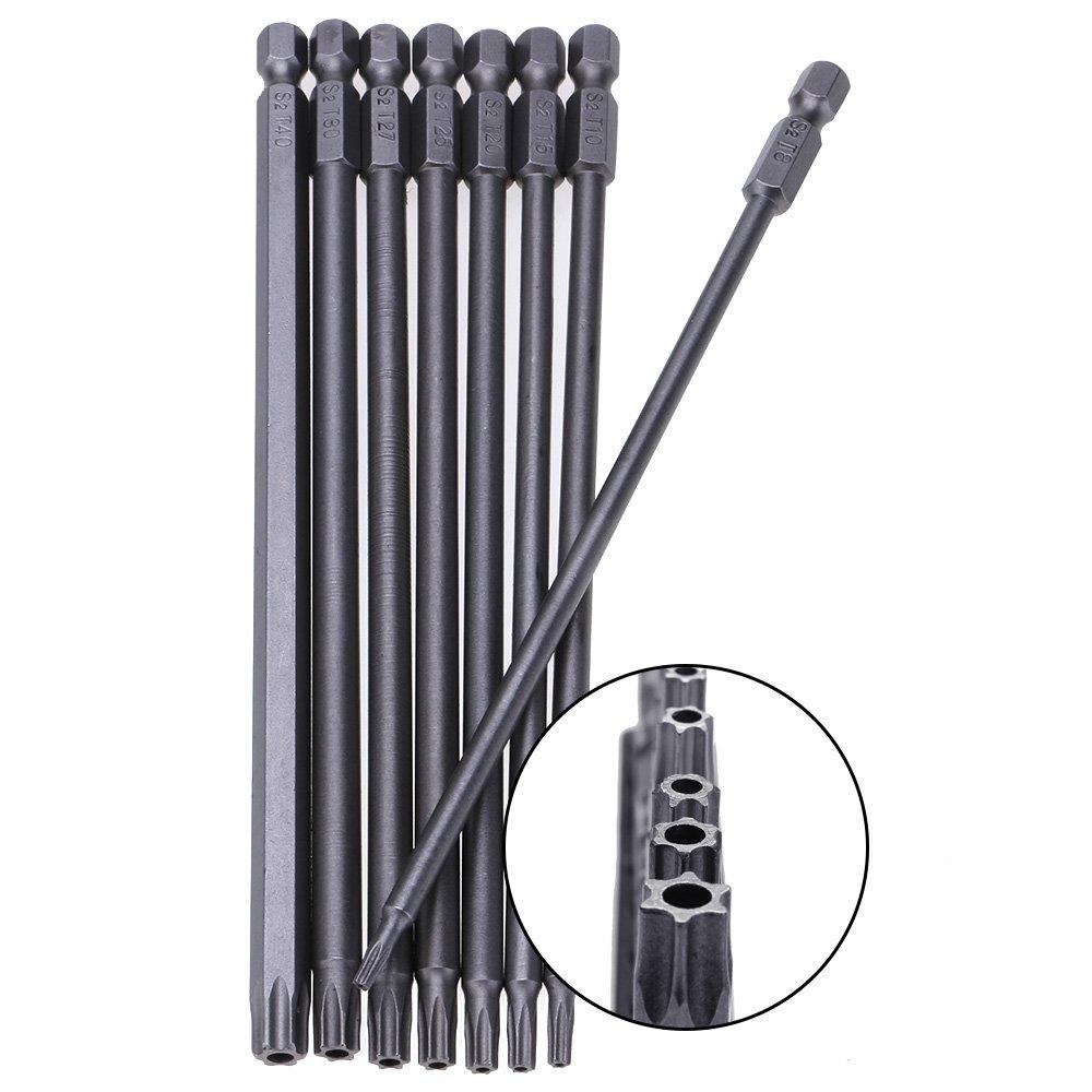 GGG Huit pi/èces t/ête Torx creuse de 150 mm t/ête de tournevis /électrique conducteur magn/étique