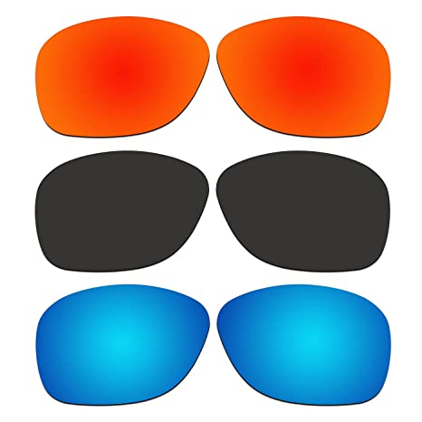 8d497d1263f1 Image Unavailable. Image not available for. Color  ACOMPATIBLE 3 Pair Replacement  Polarized Lenses for Oakley She s Unstoppable Sunglasses OO9297 ...