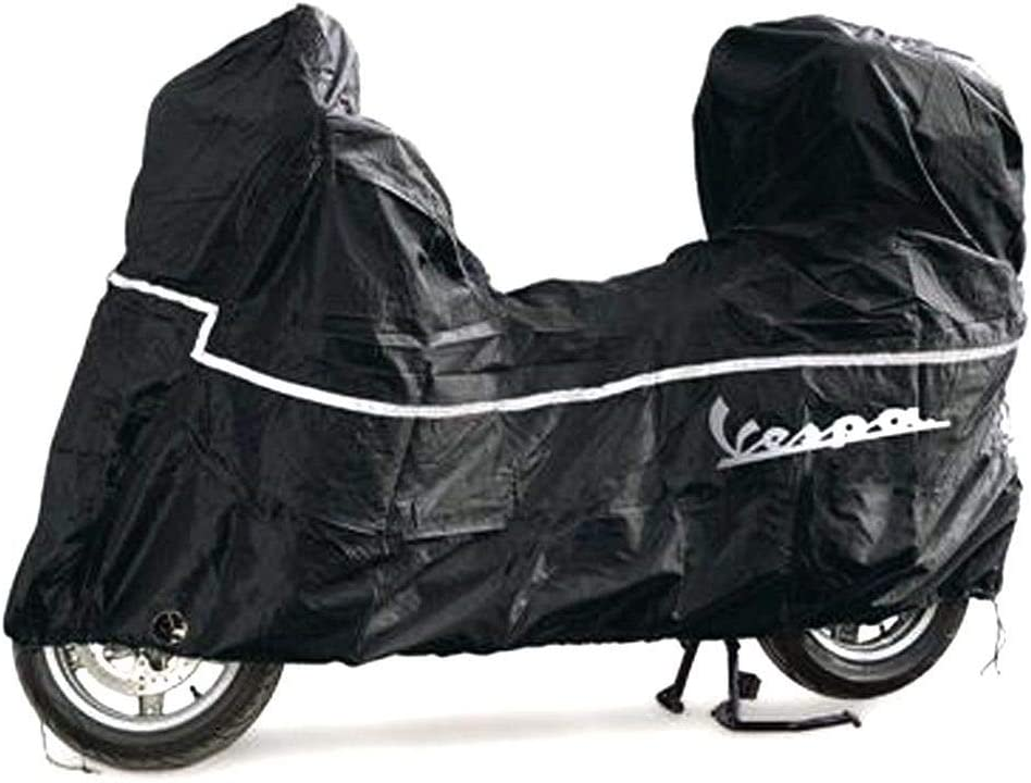 Size XL Gt Gts Super Gtv Gt60 125cc 250cc 300cc All Weather Scooter Garage 605291M001/ VESPA OEM Original Piaggio Scooter Cover with Top Case Waterproof Outdoor