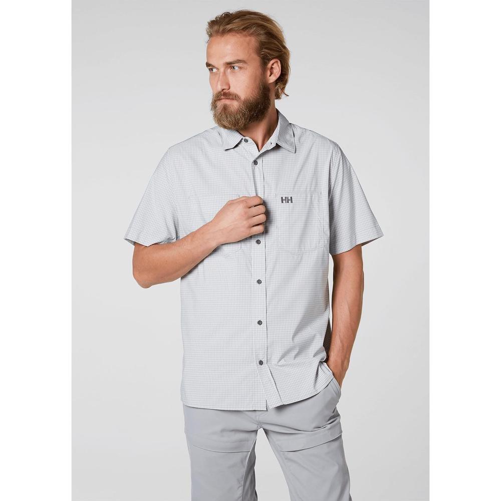 Helly Hansen Mens Domar Short Sleeve Shirt