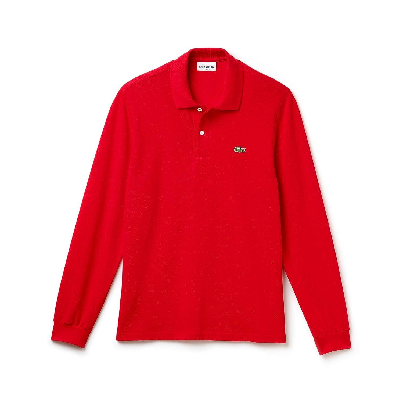 Rouge (Rouge 240) XXL Lacoste - L1312 - T-shirt - Homme