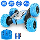Remote Control Car, RC Cars Stunt Car, 4WD 2.4GHz Double Sided Rotating 360° Flips Vehicles, Drift High-Speed Off-Road Stunt Car Toys for 3 4 5 6 7 8-12 Year Old Boy Toys Christmas Xmas Birthday Gift
