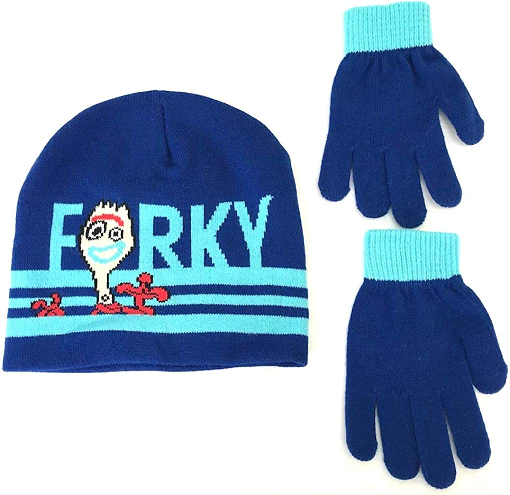 Boys Girls Kids Official Licensed Disney Cars Blue Beanie Style Winter Hat