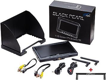 5,8GHz 7 Zoll LCD Bildschirm Empfänger Monitor 40Kanäle Für FPV Quadcopter Drone