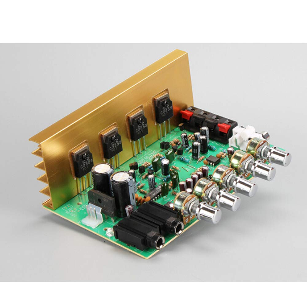 Ok Amplificador 2.0 Canal 100W * 2 con Reverb Power Amplifier Board DIY
