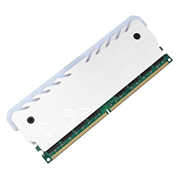 ROKOO Radiador de enfriamiento de la Memoria del Efecto Luminoso del RGB del disipador de Calor de Shell de la aleación de Aluminio: Amazon.es: Electrónica