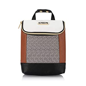 Itzy Ritzy Insulated Bottle Bag – Keeps Bottles Warm or Cool - Holds 3 Bottles & Features Interior Pocket for Ice Pack (Not Included), Coffee and Cream