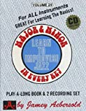 Major & Minor in Every Key/ Learn to Improvise Jazz (Volume 24)