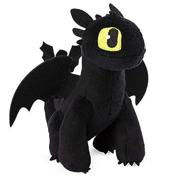 Dragons Ohnezahn Drache Plüsch Figur Softwool 20cm Dreamworks