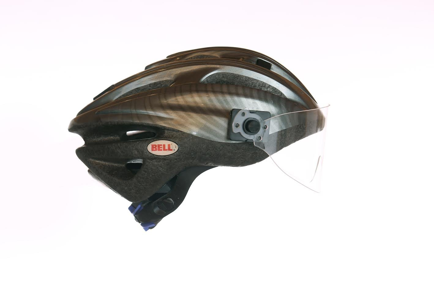 WideEyez Tour Clear (Large Cycling Face Shield) All-Weather Bike Helmet Visor Attachment